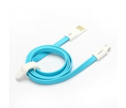 CARTECH LASER ΚΑΛΩΔΙΟ ΦΟΡΤΙΣΗΣ USB/MICRO USB 1m BLUE