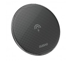 Dudao Stylish Ultra Thin Wireless Charger Qi Inductive Pad 10 W black (A10B black)
