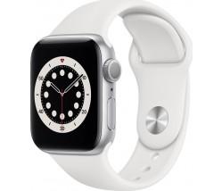 Apple Watch Series 6 GPS  Aluminium 44mm Silver white  band EU