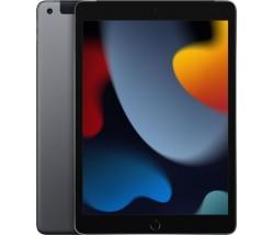 """Apple iPad 2021 10.2"""" με WiFi+4G και Μνήμη 256GB Space Gray EU"""