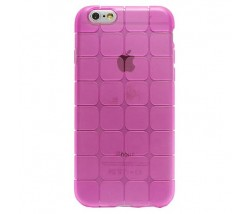 BACK CASE CUBE IPHONE 6 6S PINK