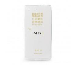 Back Case Ultra Slim 0,3mm - SON Xperia M5 transparent