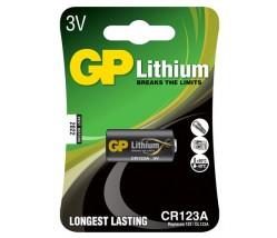 GP CR123A photo μπαταρία λιθίου 3V