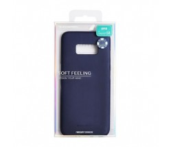 Apple iPhone 8/7 Mercury Soft Feeling Silicone Blue