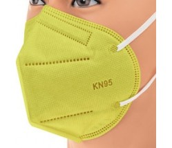 BARI Filtering Half Mask FFP2 NR 1 τεμ κίτρινο χρωμα