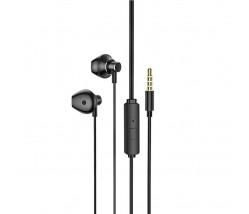 Hoco M75 Earphones 3.5mm με μικρόφωνο - μαύρο