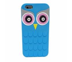 BACK CASE 3D OWL IPHONE 6 6S BLUE