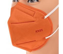 BARI Filtering Half Mask FFP2 NR 1 τεμ πορτοκαλί χρώμα
