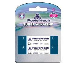 POWERTECH SUPER Αλκαλική μπαταρία LR14