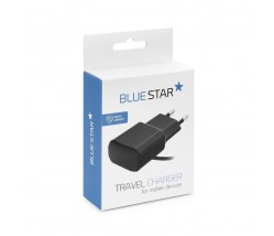Travel Charger Micro USB Universal 2A with Cable New Blue Star